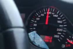 【ロシアヤバイ】 8歳の少女が時速100kmで車を運転wwwwww