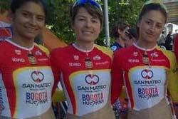 【画像】コロンビアの女子自転車チームのユニフォームが過激だと物議