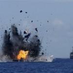 【画像】インドネシア、中国不法漁船を爆破!「民族覚醒の日」を宣言