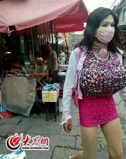 【画像】巨乳ギャルを装い、女子トイレに侵入 のぞき男を逮捕…中国