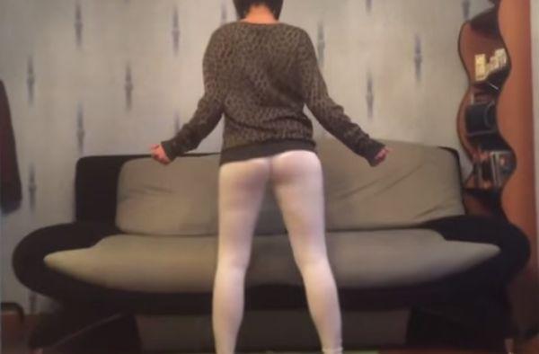 【動画】女「ケツ振りダンスや!」→ブボボ(`;ω;´)ジュワ~