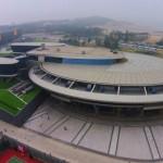 【画像】スタートレックのエンタープライズ号そっくりのビル、中国富豪が建設