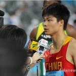 【陸上】アジア人初の9秒台 中国の蘇炳添、男子100mで9秒99
