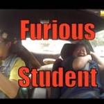 【ドッキリ動画】 自動車教習中に生徒がドリフトをして教官が絶叫