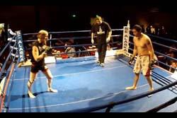 【動画】62歳お爺ちゃんが総合格闘技に参戦、裏拳一発で相手をKO