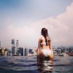 【画像】ダレノガレ明美、お尻を突き出したビキニ写真にファン興奮!「セクシー」