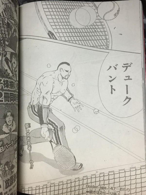【画像】テニスの王子様にバントが登場