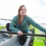 「助けて!」手こぎボートで太平洋横断中の米国人女性冒険家を救助 福島県いわき市の沖合