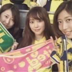 桐谷美玲、サッカーJ2観戦でファン騒然…「ガチのサッカーファンだ」