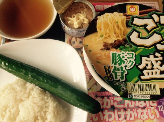 【画像】ワイ(105キロ)の朝食