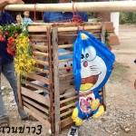 【画像】干ばつのタイで「ドラえもん」を使った雨乞いの儀式が行われる