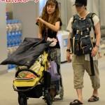 「モデルとは思えない…」西山茉希のハワイ便搭乗姿がまるでヤンキーと散々