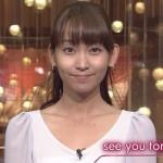 【画像】TBS出水麻衣アナ「街中キス4連発」を激撮!