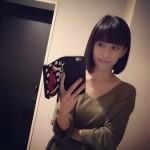 【画像】優木まおみ、前髪パッツンのボブに変身「美人しか似合わないですよね」と大好評