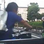 【動画】チャリガキ「意味不明な動きするやで~」車「」