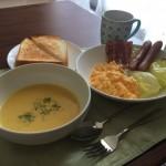 【画像】自炊歴30年のワイの朝食