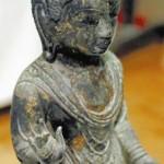 【悲報】韓国が盗んだ仏像、指が欠けて返ってくる