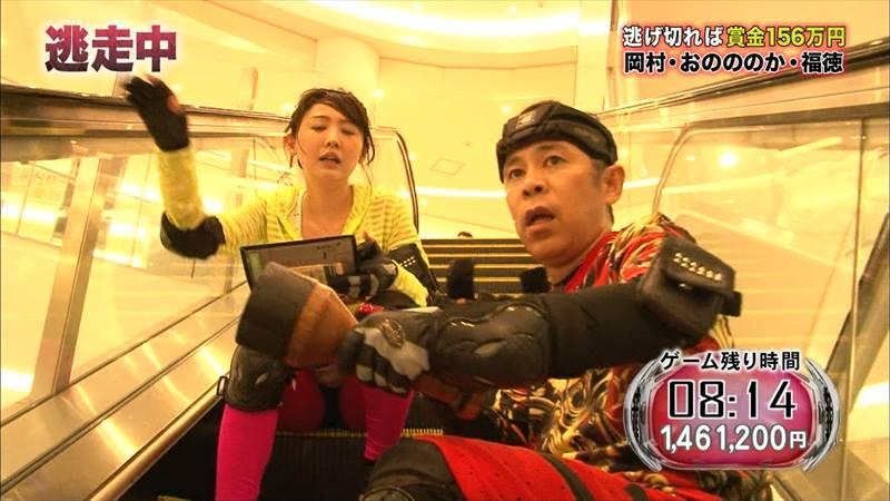 【炎上】おのののか、『逃走中』で岡村隆史を盾に使い逃げ切ったと批判殺到