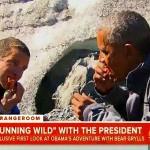 【動画】ベア・グリルス、オバマに気持ち悪いものを食わせる