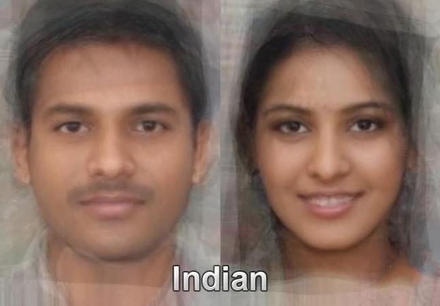 インド人の平均顔wwwwwww