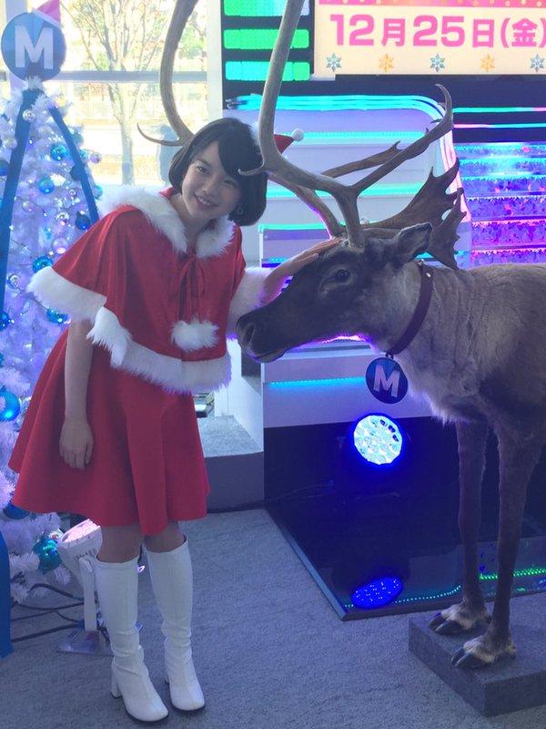テレビ朝日・弘中綾香アナのサンタクロースコスプレが可愛すぎると話題に 「初々しい」「反則の可愛さ」と絶賛の声