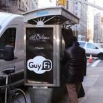 ニューヨークの街中にオナニーボックスが設置される しかも無料