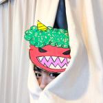 【画像】能年玲奈さん、迫力ある鬼を演じて節分の報告