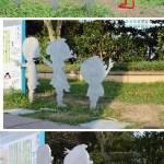 【福岡】タラちゃん像、足元から折られる! 「サザエさん」一家の残りはカツオ君とワカメちゃんだけに・・・