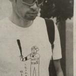 浜田雅功がデザインしたイチローTシャツwwwwww