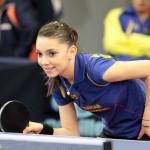 【画像】超人気!ルーマニアの女子卓球選手が美しすぎると話題