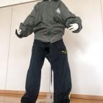 【画像】股間部分を切り抜いたズボンを履いて下半身を露出していた男(40)を逮捕