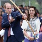 ブータン国民、ウィリアム王子に「ハゲ」コールを浴びせる