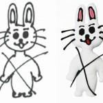 橋本環奈が描いた個性的なイラストがぬいぐるみに! なんだこれwwwww