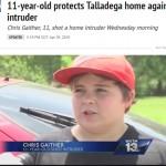 【米国】11歳少年が侵入者に発砲 「撃たれたら赤ん坊の様に泣いてたよ」