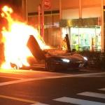 【画像】ランボルギーニが大炎上してる件、もったいねぇ…