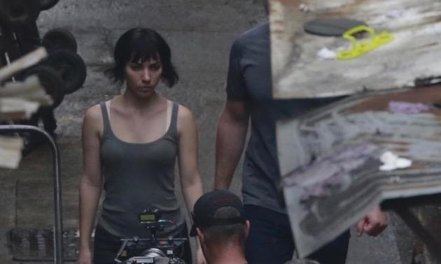 【画像】ハリウッド版「攻殻機動隊」の撮影風景が公開される