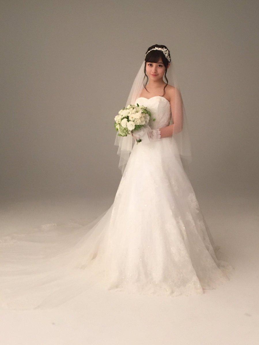 【天使】橋本環奈がウェディングドレス姿を公開