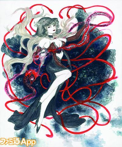 【画像】天野喜孝さんの最新のファイナルファンタジーの絵がコレ カッコ良すぎワロタ