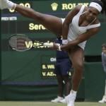【画像】美人女子テニス選手「スカートが短すぎて食い込んでプレーできないの・・・」