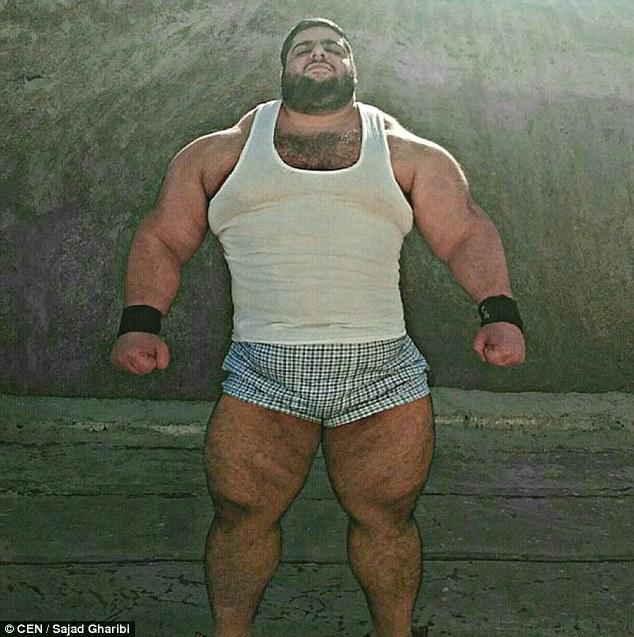 【画像】体重150キロのめちゃくちゃ強そうな男