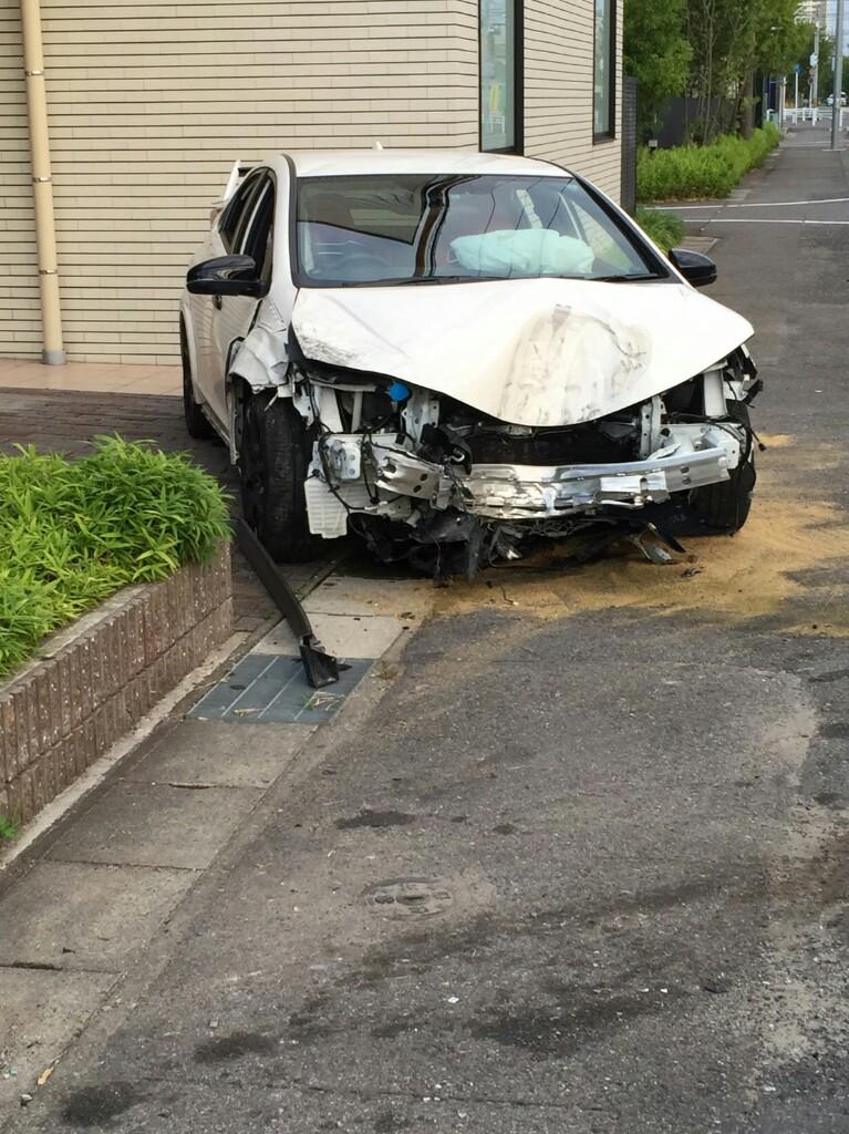 代車で事故ってしまった、新車じゃなくてよかった!→数日後、新車を事故ってしまった(涙)