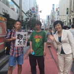 【画像】首相夫人の安倍昭恵さん「昨日はこんな人たちとも写真を撮ったり、握手をしてみました」