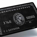 【画像】最高クラスのクレジットカードがかっこよすぎてワロタ