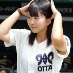 【高校野球】大分の女子マネが甲子園のグラウンドに 大会関係者慌てて制止