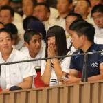 【高校野球】大分・女子マネジャー首藤桃奈さん、関係者席で組み合わせ抽選参加