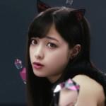 """【画像】橋本環奈:猫耳&ショートパンツでセクシーな""""黒猫""""に 猫ポーズで「にゃあ」"""