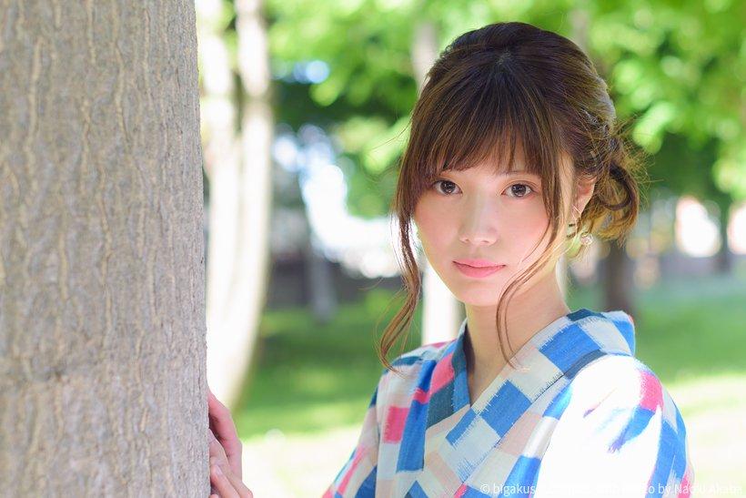 【画像】弘前大学医学部の浴衣美女 青森にもこんな美女がいるんだな