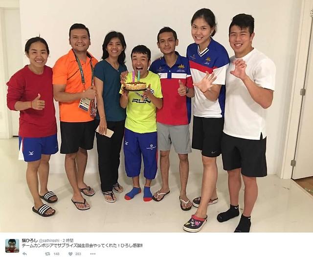 猫ひろし、五輪男子マラソン140人中139位wwwww