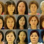 【画像】摘発された韓国人売春婦15人の顔wwwww