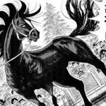 イケメンの馬を描いてください。 男漫画家「こうだな」女イラストレーター「こうでしょw」